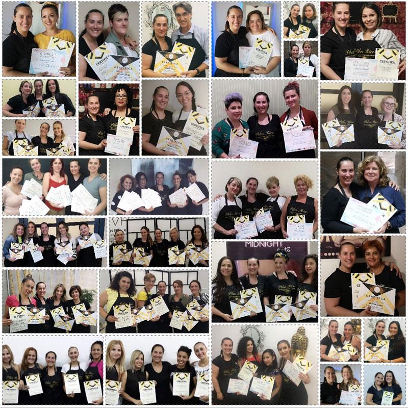 alumnos certificados escuela microblading pilar rico